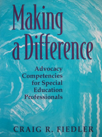 Making a Difference (P) by Craig R Fiedler