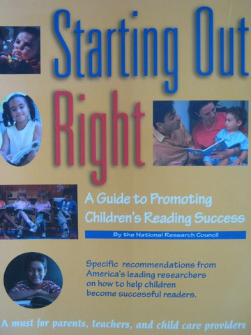 Starting Out Right (P) by Burns, Griffin, & Snow