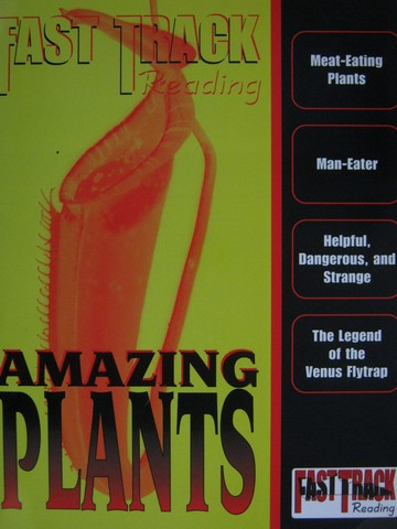 Fast Track Reading Amazing Plants (P) by Alcock & York