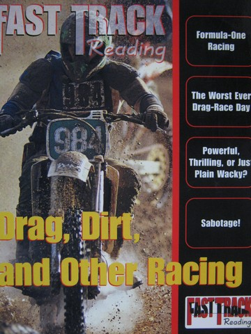 Fast Track Reading Drag Dirt & Other Racing (P) by Glynn,