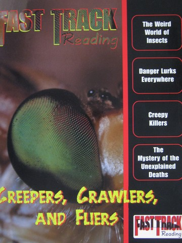 Fast Track Reading Creepers Crawlers & Fliers (P) by York