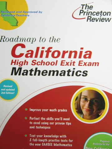 Roadmap to the CAHSEE Mathematics Revised 2nd Edition (CA)(P)