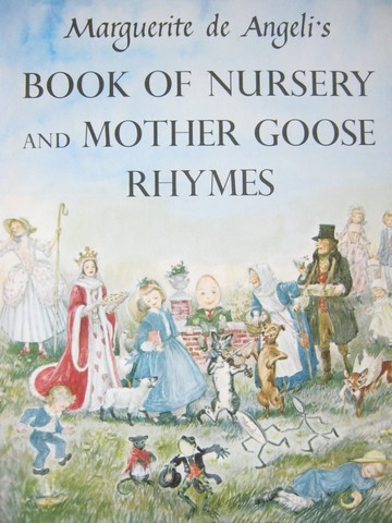 Book of Nursery & Mother Goose Rhymes (H) by de Angeli