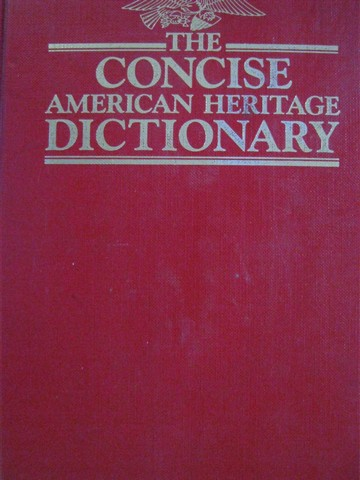 Concise American Heritage Dictionary Revised Edition (H)