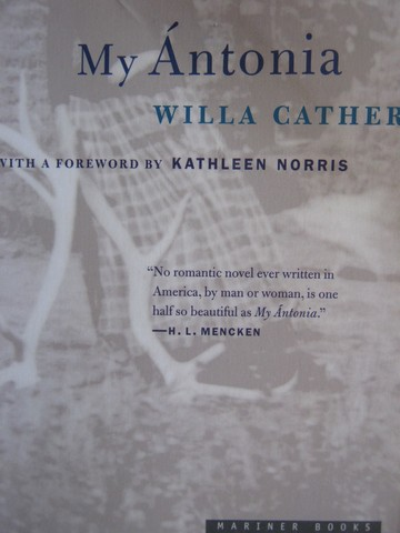 My Antonia (P) by Willa Cather