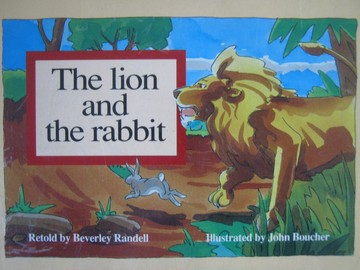New PM Story Books Lion & the Rabbit (P) by Beverley Randell