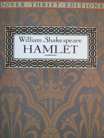 Hamlet Unbridged Dover Thrift Edition (P) by William Shakespeare