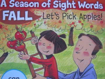 A Season of Sight Words Fall Let's Pick Apples! (P) by Penney