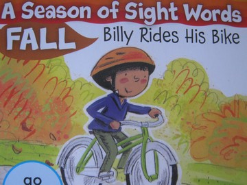 A Season of Sight Words Fall Billy Rides His Bike (P) by Penney