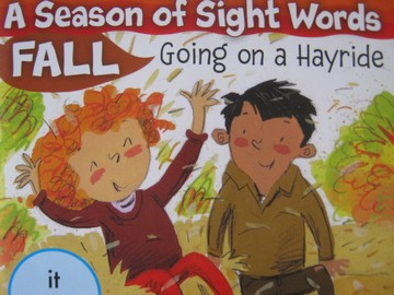 A Season of Sight Words Fall Going on a Hayride (P) by Penney