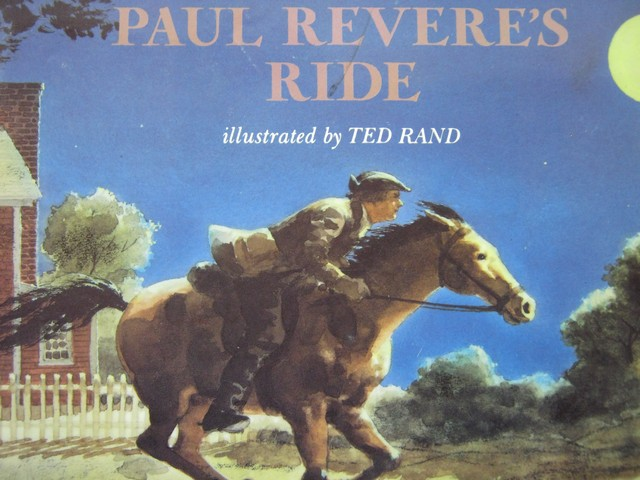 Paul Revere's Ride (P) by Henry Wadsworth Longfellow