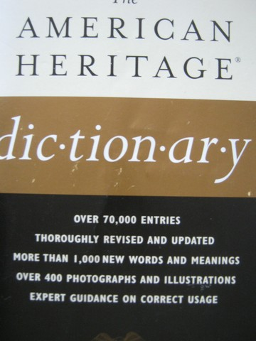 American Heritage Dictionary 4th Edition Office Edition (P)