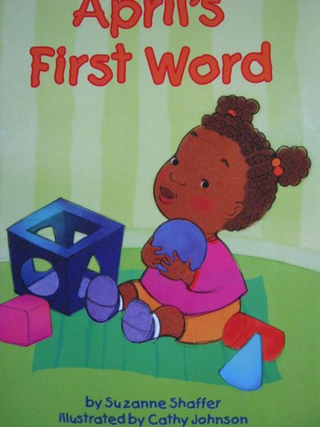 Math Readers 1 April's First Word (P) by Suzanne Shaffer