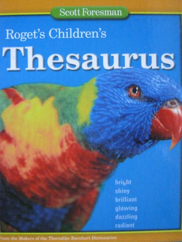 Roget's Children's Thesaurus for Grades 3-5 (H)