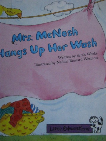 Little Celebrations Mrs. McNosh Hangs Up Her Wash (P) by Weeks