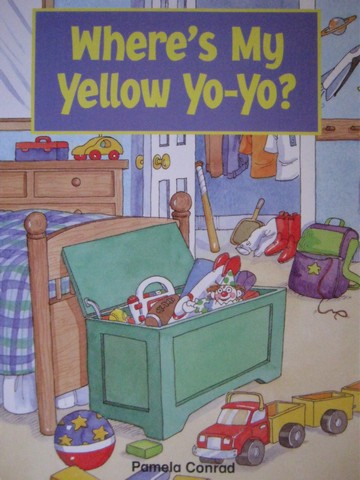 Phonics & Friends Level A Where's My Yellow Yo-Yo? (P)