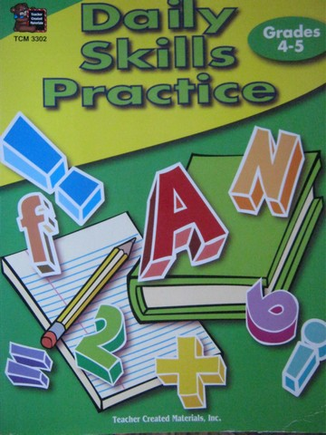 Daily Skills Practice Grades 4-5 (P) by Jane Hutchison