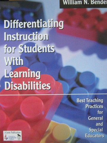 Differentiating Instruction for Learning Disabilities (P)