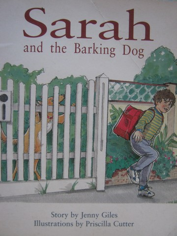 PM Story Books Orange Set B Sarah & the Barking Dog (P) by Giles