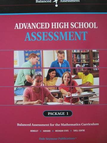 Advanced High School Assessment for Mathematics Package 1(P)
