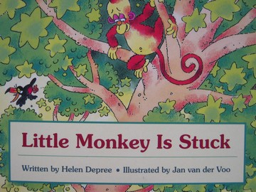 Foundations 2 Little Monkey Is Stuck (P) by Helen Depree