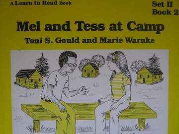 A Learn to Read Book 2 Mel & Tess at Camp (P) by Gould & Warnke