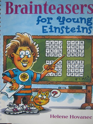 Brainteasers for Young Einsteins (Spiral) by Helene Hovanec