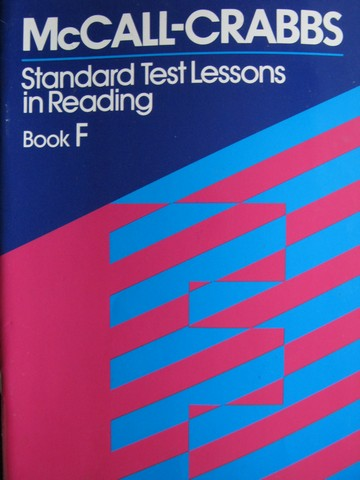 McCall-Crabbs Standard Test Lessons in Reading Book F (P)