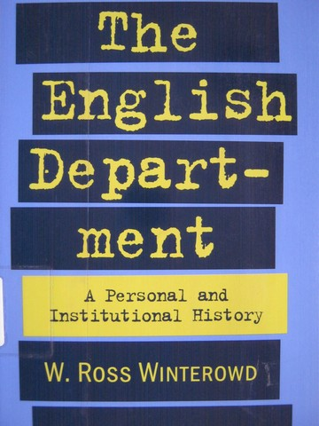 English Department (P) by W Ross Winterowd