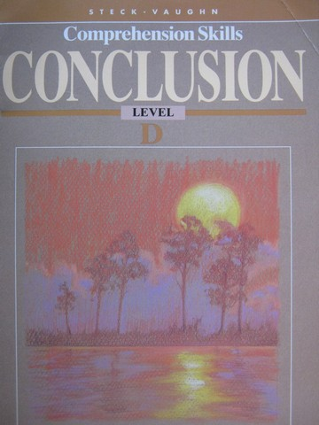Comprehension Skills Conclusion D (P) by Beech, McCarthy,