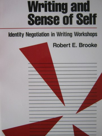 Writing & Sense of Self (P) by Robert E. Brooke