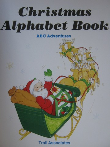 Christmas Alphabet Book (P) by Pat Whitehead