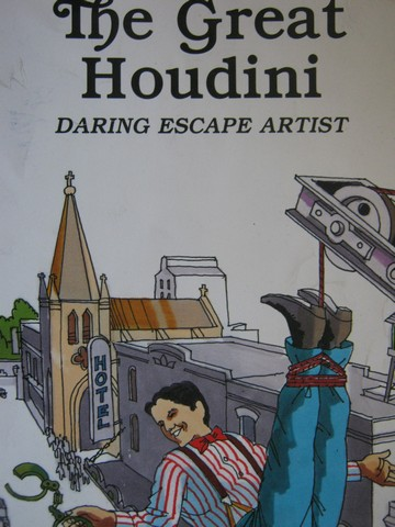 Great Houdini Daring Escape Artist (P) by Louis Sabin
