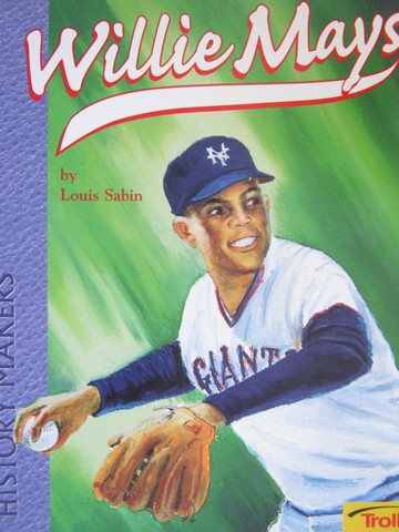 Willie Mays Young Superstar (P) by Louis Sabin