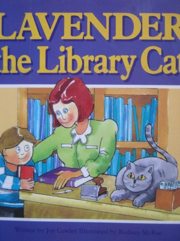 Read-Alongs Lavender the Library Cat (P) by Joy Cowley