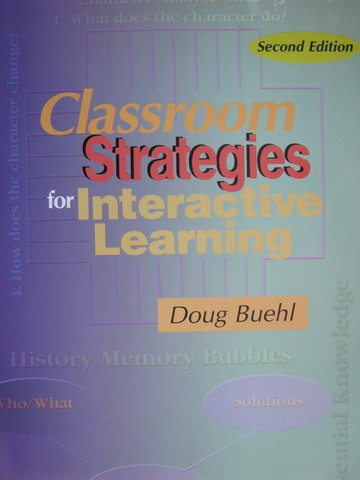 Classroom Strategies for Interactive Learning 2nd Edition (P)