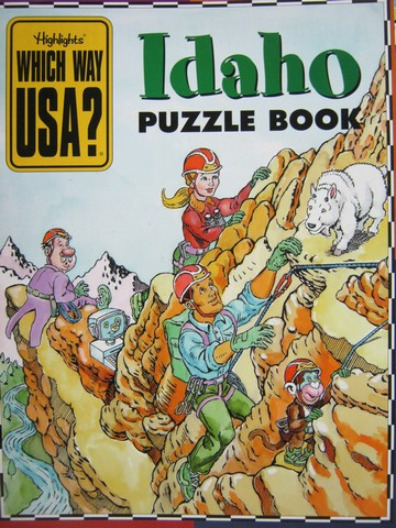 Which Way USA? Idaho Puzzle Book (P) by Andrew Gutelle