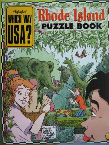 Which Way USA? Rhode Island Puzzle Book (P) by Andrew Gutelle