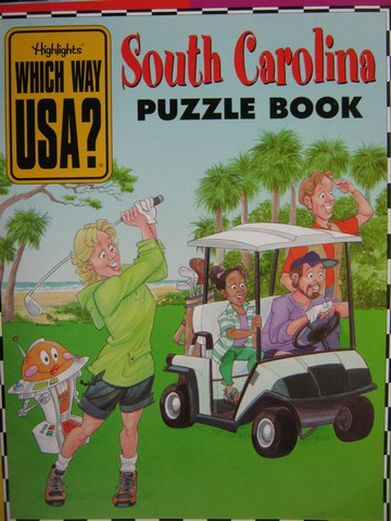 Which Way USA? South Carolina Puzzle Book (P) by Andrew Gutelle
