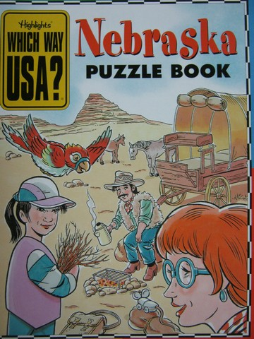 Which Way USA? Nebraska Puzzle Book (P) by Andrew Gutelle
