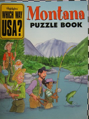 Which Way USA Montana Puzzle Book (P) by Andrew Gutelle