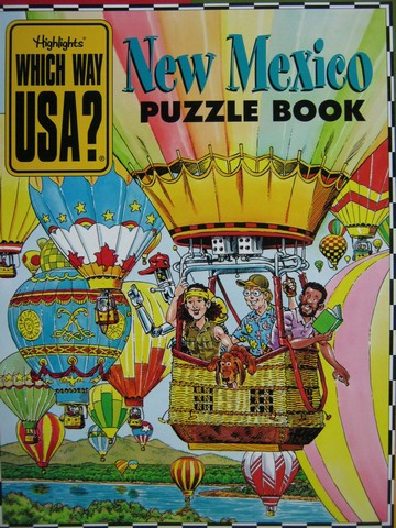 Which Way USA? New Mexico Puzzle Book (P) by Andrew Gutelle