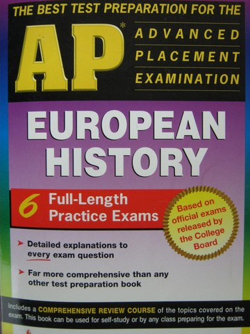 Test Preparation for the AP European History (P) by Campbell,