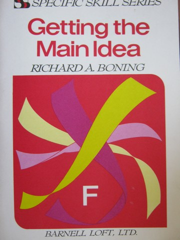 Specific Skill Series Getting the Main Idea F 2nd Edition (P)