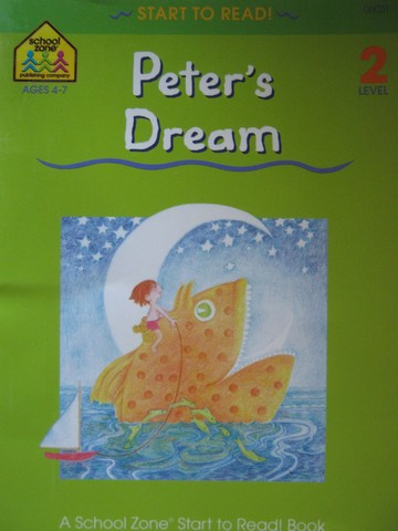Start to Read! 2 Peter's Dream (P) by Joan Hoffman
