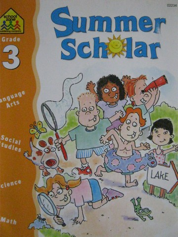 Summer Scholar Grade 3 (P) by M C Hall