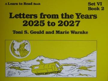A Learn to Read Book 6 Letters from the Years 2025 to 2027 (P)