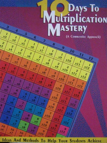 10 Days to Multiplication Mastery (P) by Marion W Stuart