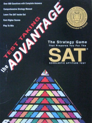 Test Taking the Advantage The Strategy Game for SAT (Box)