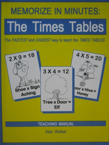Memorize in Minutes the Times Tables Teaching Manual (P)